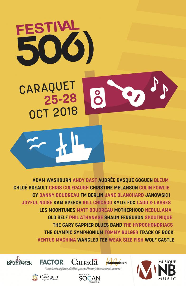 Festival (506) 2019 | Music NB